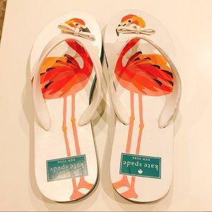 dcb5a05538cc kate spade Shoes - NWOT Kate Spade Flamingo Flip Flops